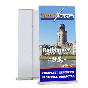 100cm Rolbanner Top Design